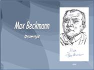 Max Beckmann - Drawings