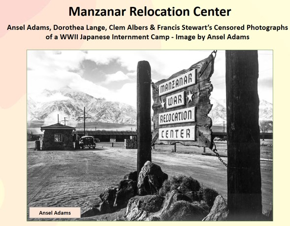 United States<BR/>Manzanar Relocation Center